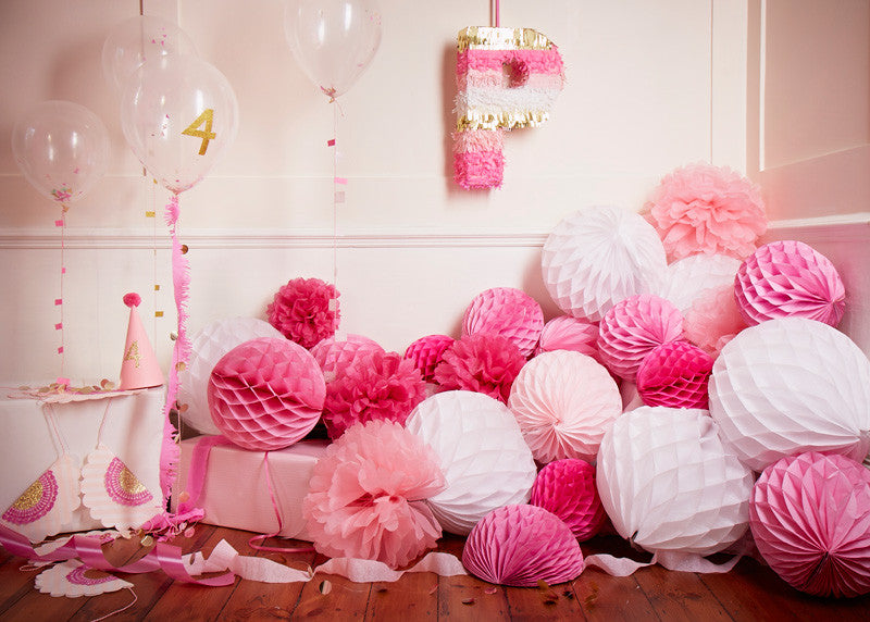 pink party pinata