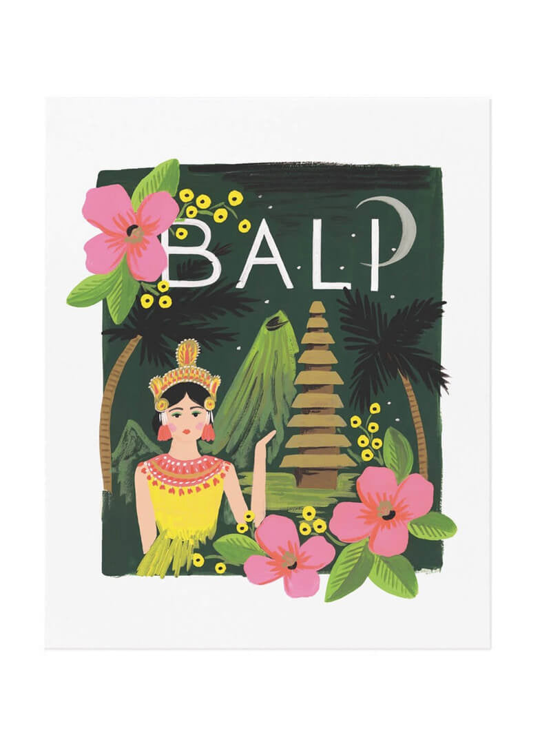 Rifle Paper Co Bali print