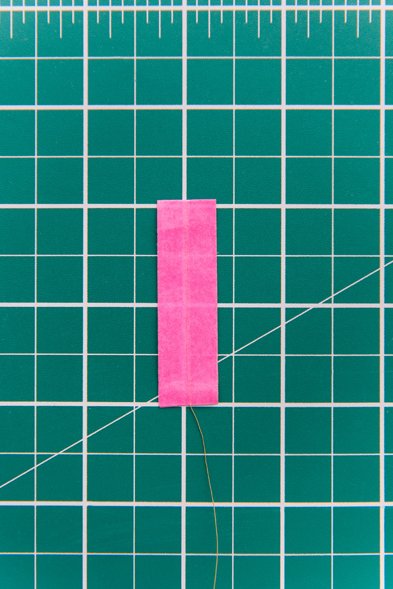 washi tape feather step two