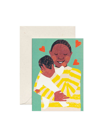 Hadley Paper Goods new baby cuddle card