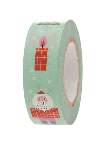 Mint Christmas washi tape