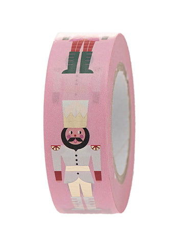 Pink Nutcracker soldiers washi tape