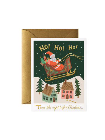 Rifle Paper Co Christmas delivery card set