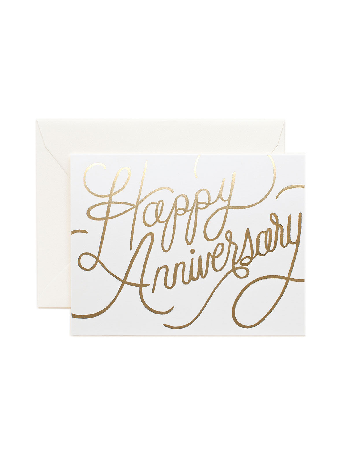 Rifle Paper Co Happy Anniversary card