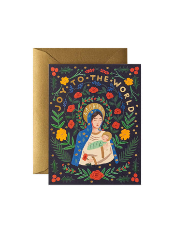 Rifle Paper Co Madonna and child card set