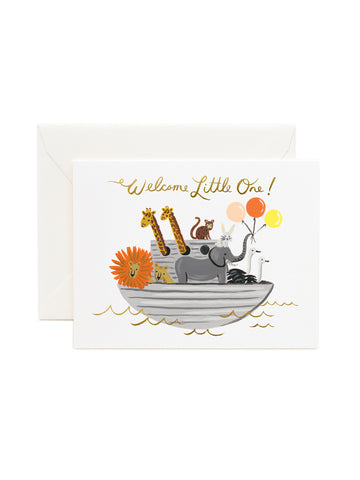 Rifle Paper Co Noah's Ark card
