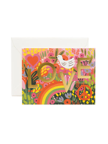 Rifle Paper Co all you need in love card