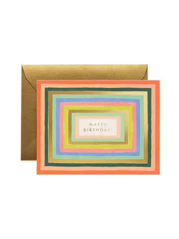 Rifle Paper Co disco card