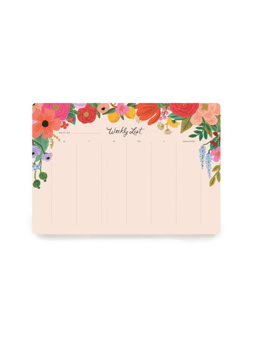 Rifle Paper Co garden party desk pad