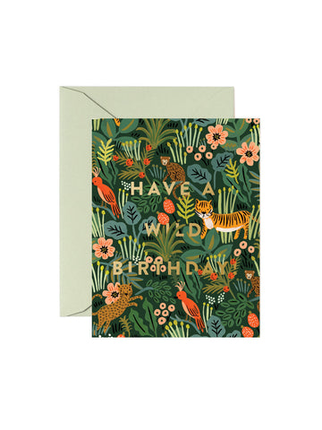 Rifle Paper Co Have a wild birthday card