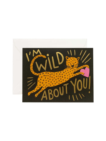 Rifle Paper Co I'm wild about you card