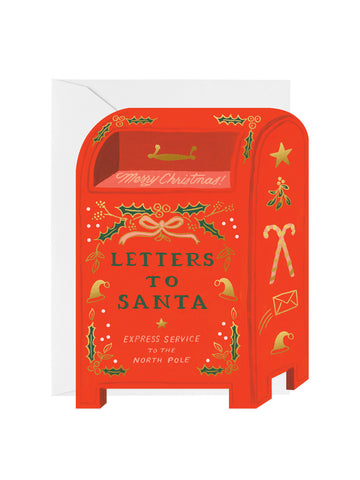 Rifle Paper Co letters to Santa card set