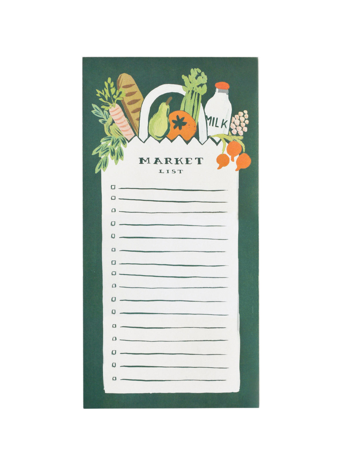 Rifle Paper Co market list notepad