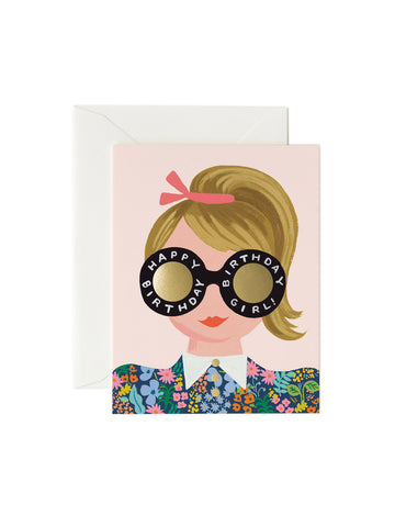 Rifle Paper Co meadow birthday girl card