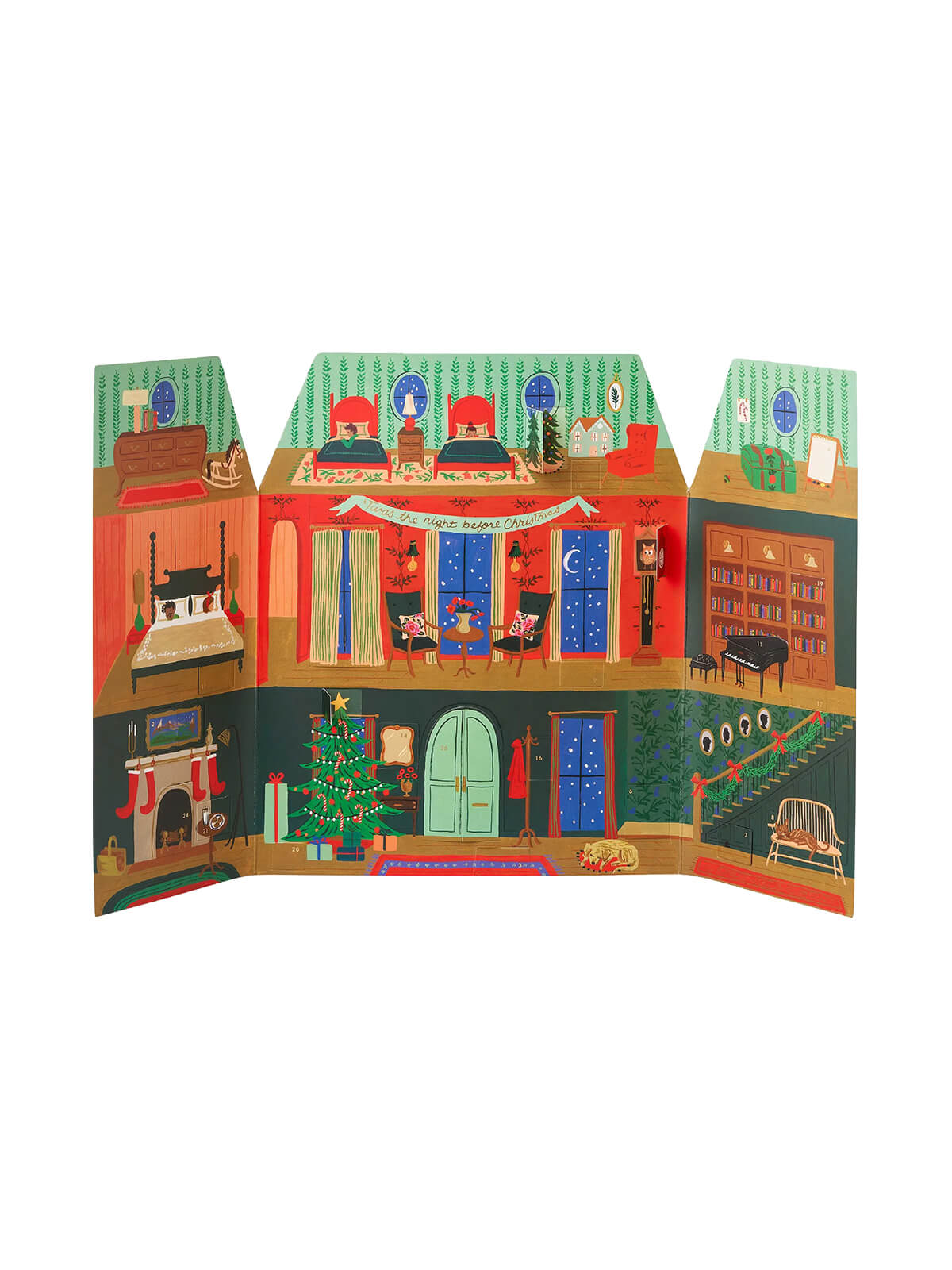 Rifle Paper Co night before Christmas advent calendar