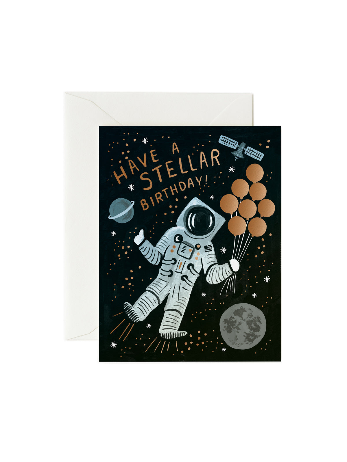 Rifle Paper Co stellar birthday card
