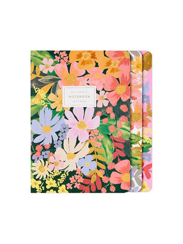 Rifle Paper Co Marguerite stitched notebooks