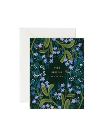 Rifle Paper Co sympathy card
