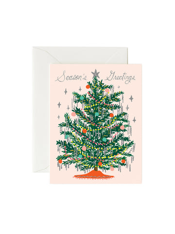Rifle Paper Co tinsel tree card set