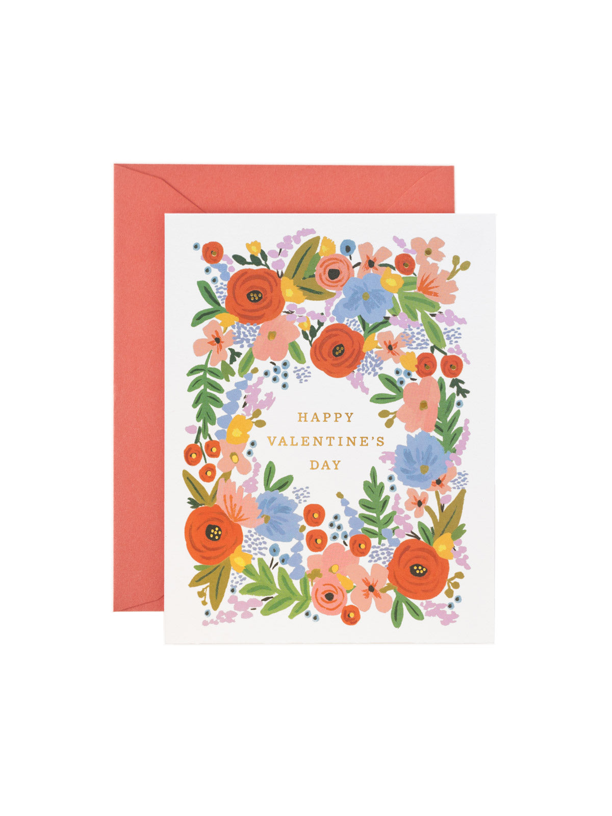 Rifle Paper Co Valentines bouquet card