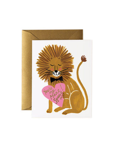Rifle Paper Co you're my mane squeeze card