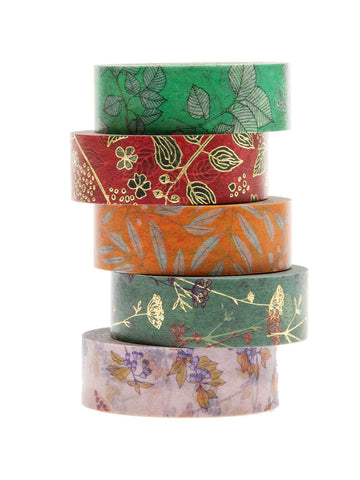 autumn washi tape set