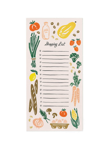 magnetic shopping list