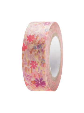 Pink meadow washi tape
