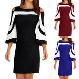 Women Ladies Bodycon Casual  Evening Party Mini Dress