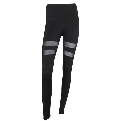 Women's Ankle Length Yoga Pants Quick Dry Elastic Sports Fitness Pants Sexy Gym Leggings