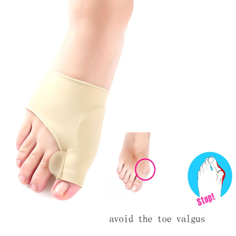 Silicone Gel Insoles Orthopedic Insoles Foot Relieve Toe Correction Device Soles Foot Care Toe Valgus Half Pads Men Women