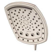 Oxygenics AllSpa 7-Setting Rain Shower System (Brushed Nickel)