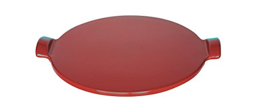 "Emile Henry Made In France Flame Individual Pizza Stone, 10"", Burgundy"