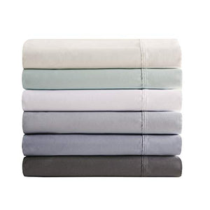 Beautyrest 600 Thread Count Cooling Cotton Rich Sheet Set, Cal King, Grey