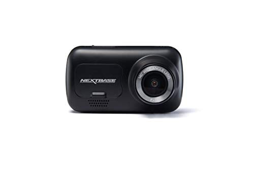 "Nextbase 222 Dash Cam 2.5"" HD 1080p Wireless Compact Car Dashboard Camera, Intellegent Parking Mode, Loop Recording, Black"