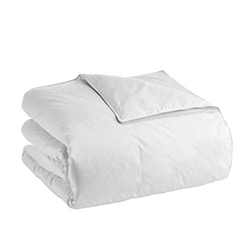 Claritin Ultimate Allergen Barrier ClearLoft White Goose Down All-Season Comforter (Full/Queen, White)
