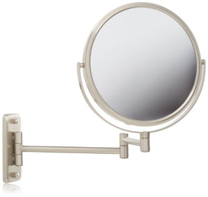 JP7808N Wall Mount Mirror, Nickel