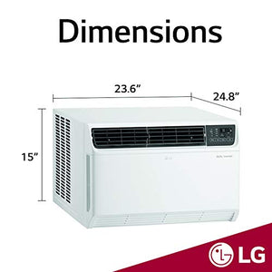 LG LW1517IVSM Window Air Conditioner, 14,000 BTU 115V, White