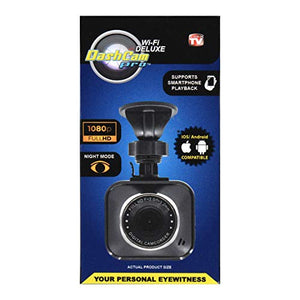 As Seen On TV Smart WiFi Dashcam Pro, Black - Portable