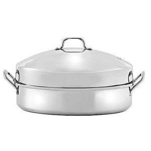 SALT 16-Inch Stainless Steel Dome Roaster