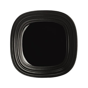 Mikasa Swirl Black Square 4-Piece Place Setting, Service for 1
