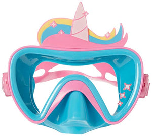 SwimWays 6047311 Funny Face Swim Mask, Unicorn