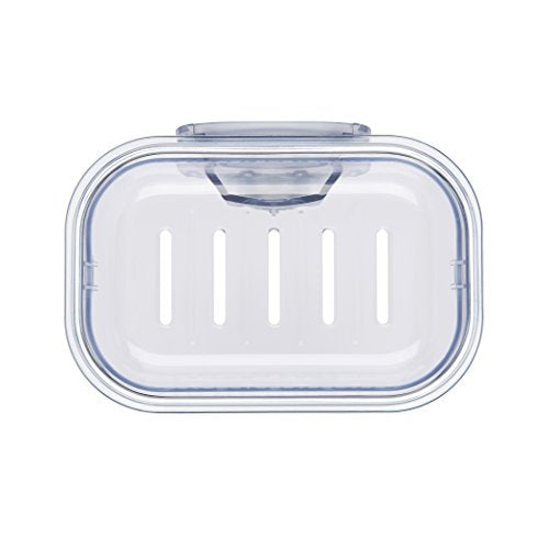 OXO 13206500 Good Grips StrongHold Suction Soap Dish,Clear