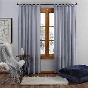 UGG Riley 84-Inch Tab Top Window Curtain Panel in Navy