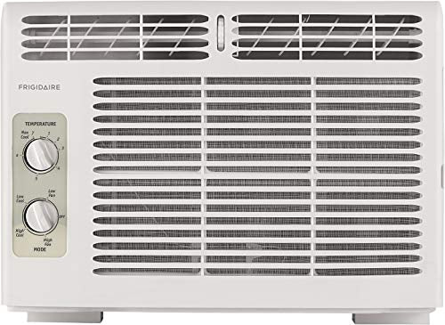 (Refurbished) Frigidaire 5,000 BTU 115V Window-Mounted Mini-Compact Air Conditioner with Mechanical Controls, White