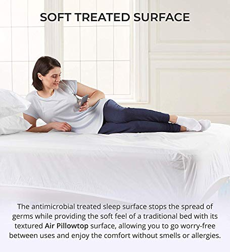 AeroBed Luxury Pillow Top 16-Inch Air Mattress Inflatable Bed