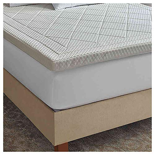Therapedic Quilted Deluxe 3-Inch Memory Foam Queen Bed Topper