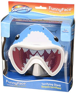 SwimWays 6047312 Funny Face Swim Mask, Shark