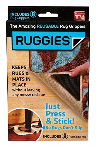 Allstar Marketing Group RU011132 Ruggies Rug Grippers, 8-Pk. - Quantity 8