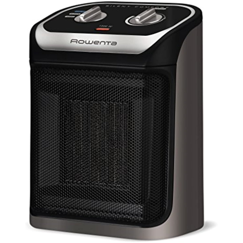 Rowenta Space Heater with Cool-Touch Handle, Compact Heater, Black